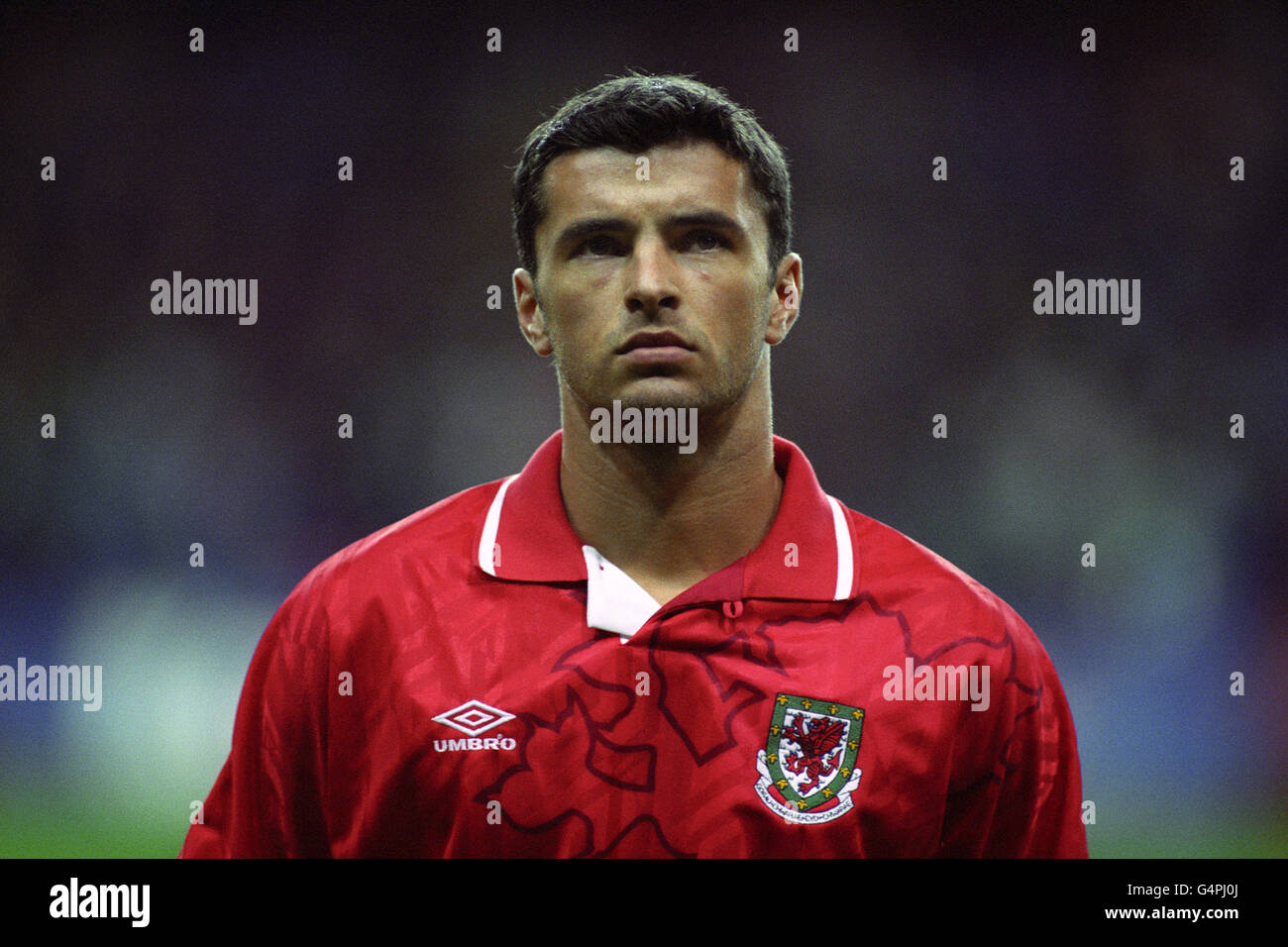 Soccer - International Soccer - Wales - Stock Image