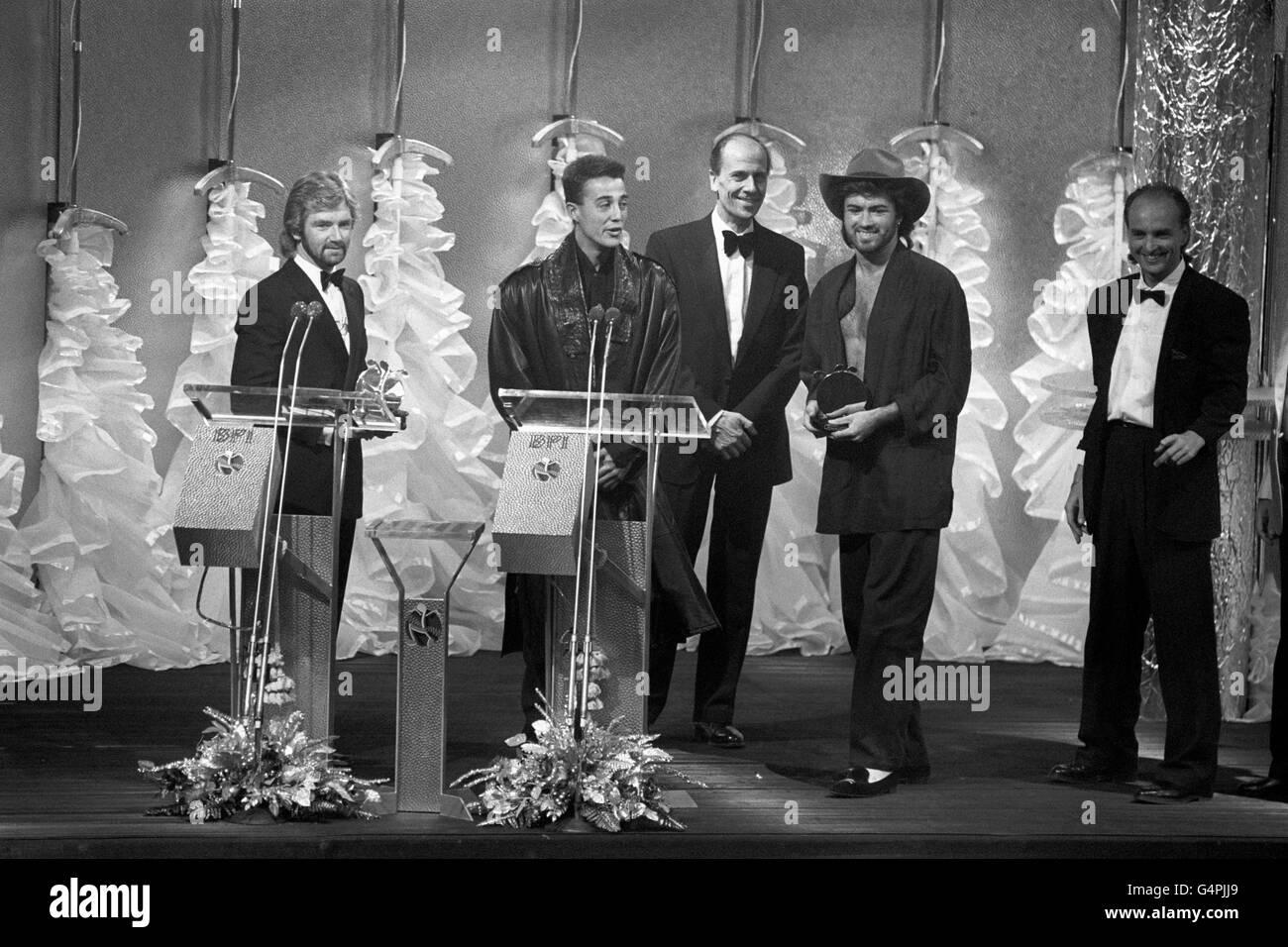Music - British Phonographic Industry Awards (Brits) - Grovsvenor House London - Stock Image