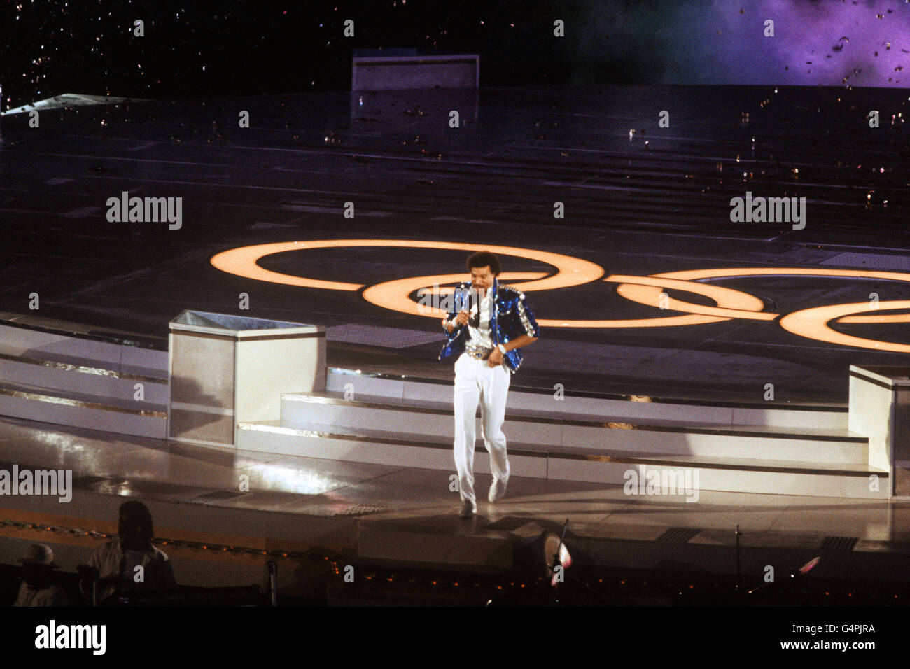 Olympic Games - Los Angeles 1984 - Closing Ceremony - Stock Image