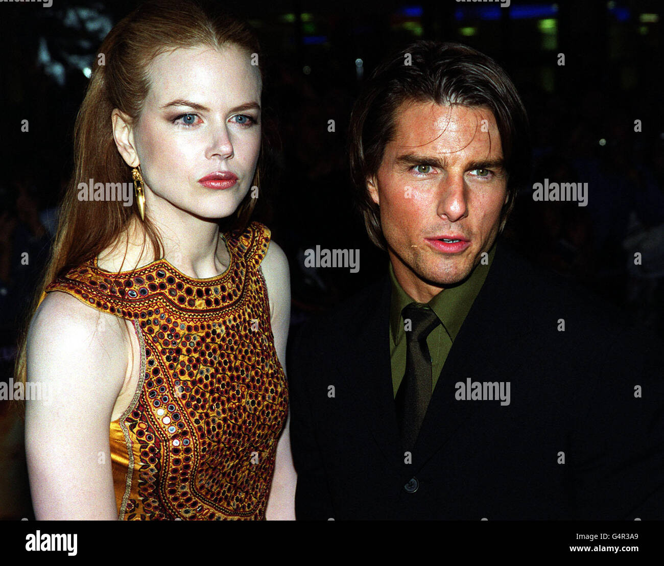 Eyes Wide Shut/Cruise/Kidman - Stock Image