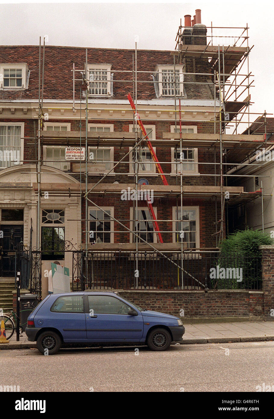 The Home Of Millionaire Fashion Designer Vivienne Westwood In Clapham High Resolution Stock Photography And Images Alamy