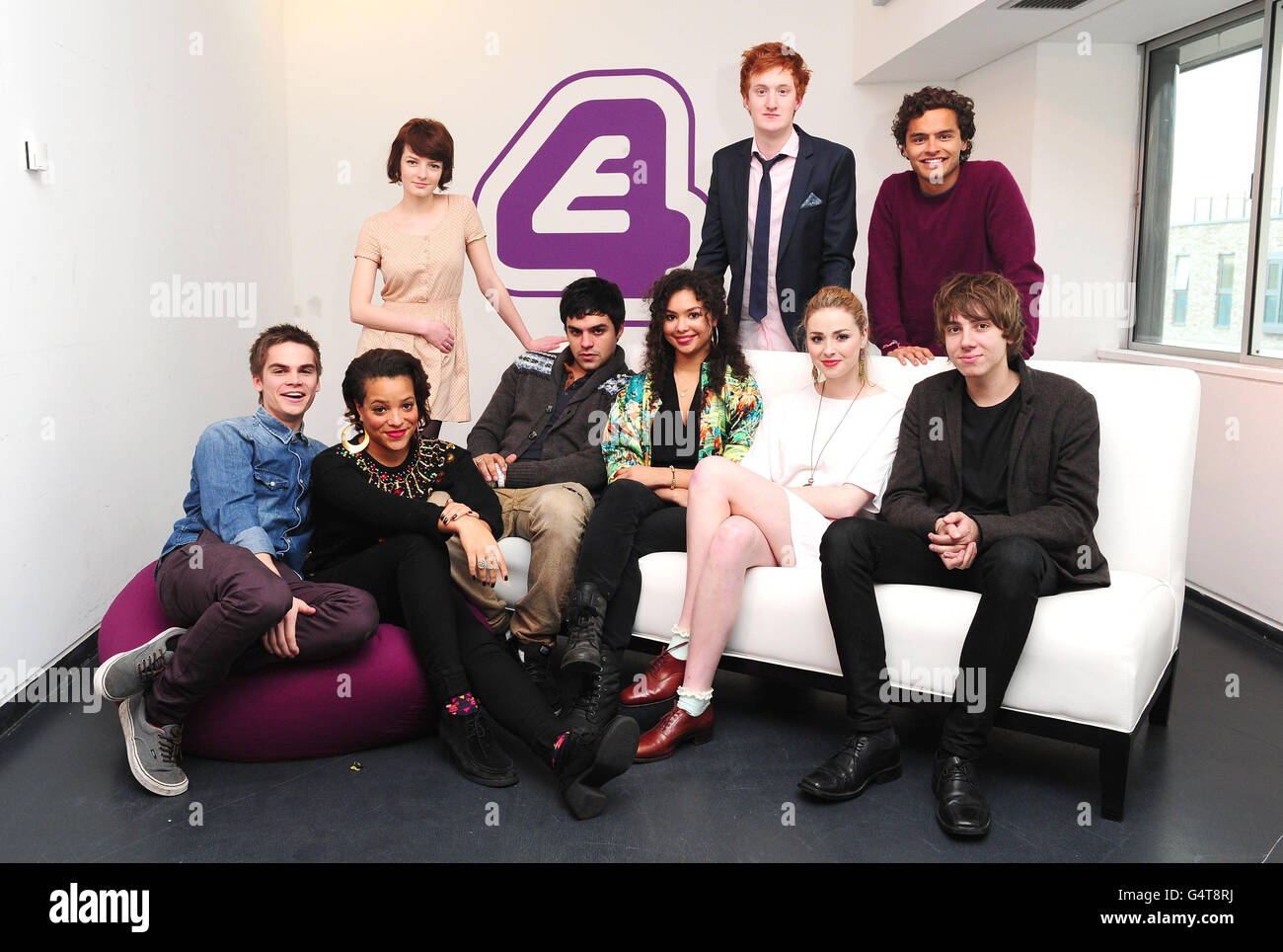 E4 drama Skins launch - London - Stock Image