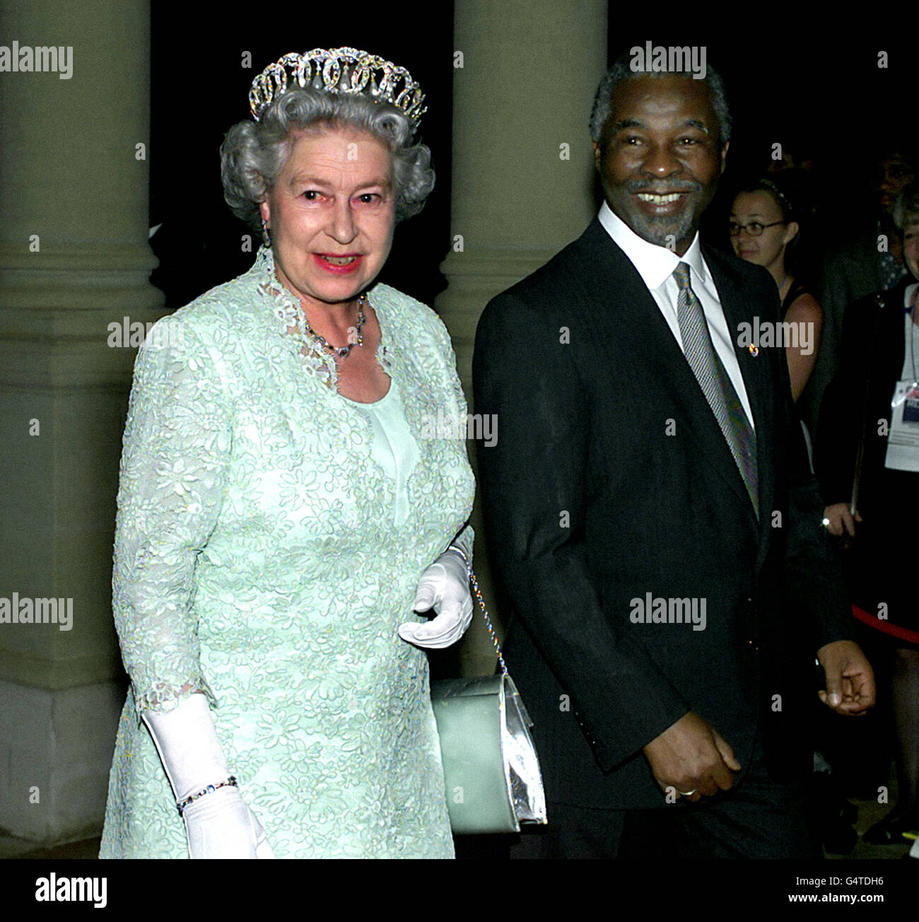 Royalty - Queen Elizabeth II Visit to South Africa - Stock Image