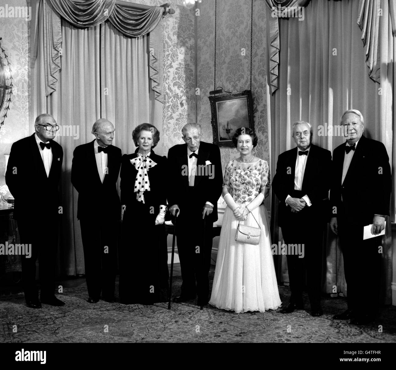 Politics - 250th Anniversary of the Prime Minister's office - Downing Street, London - Stock Image