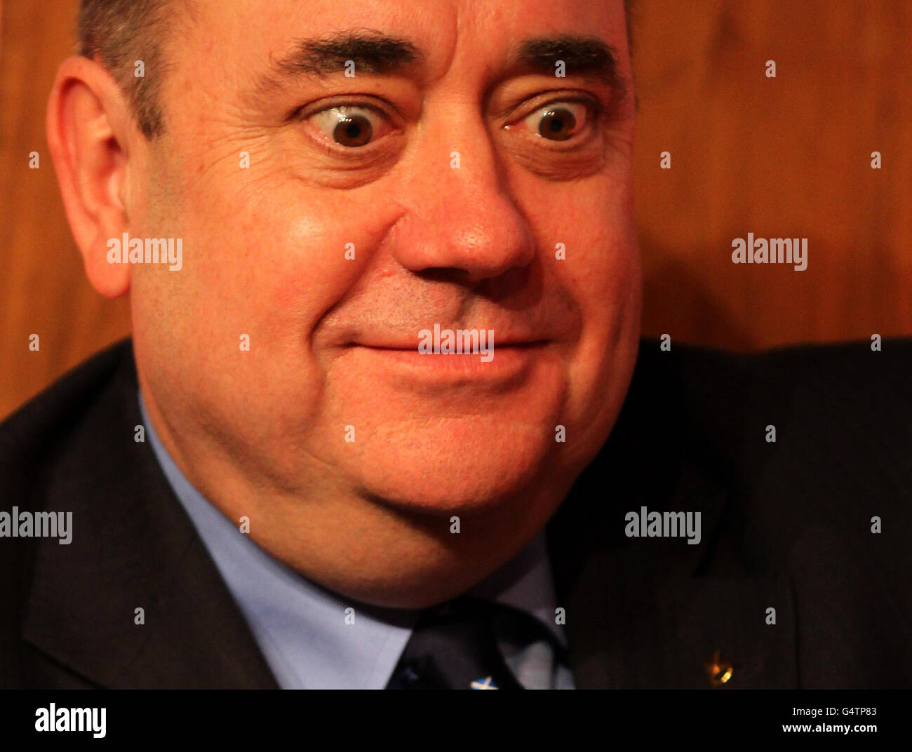 Scottish Independence Referendum Stock Photo