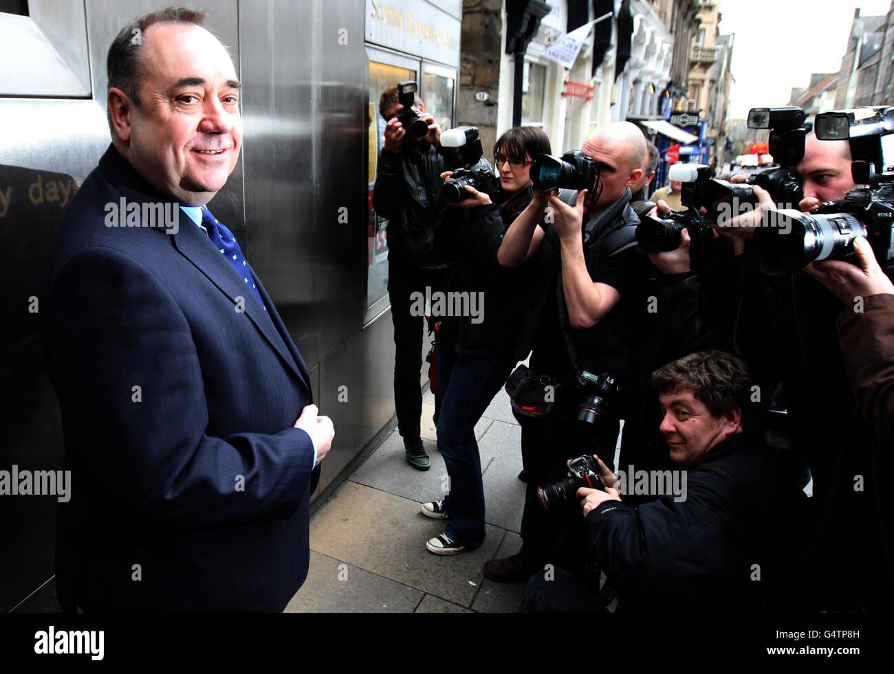 Scottish Independence Referendum Stock Photo