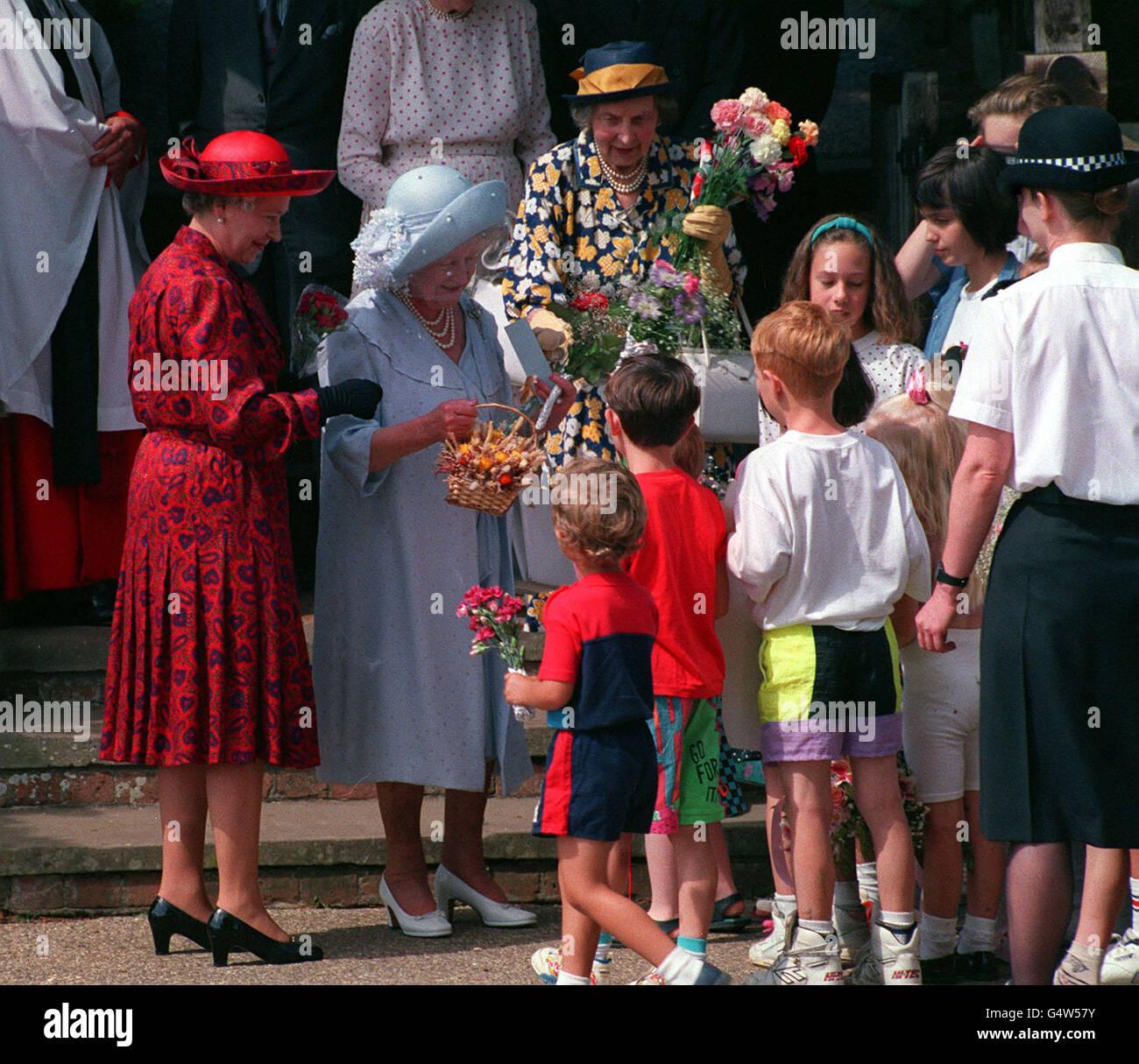 Queen Mother 91st Birthday