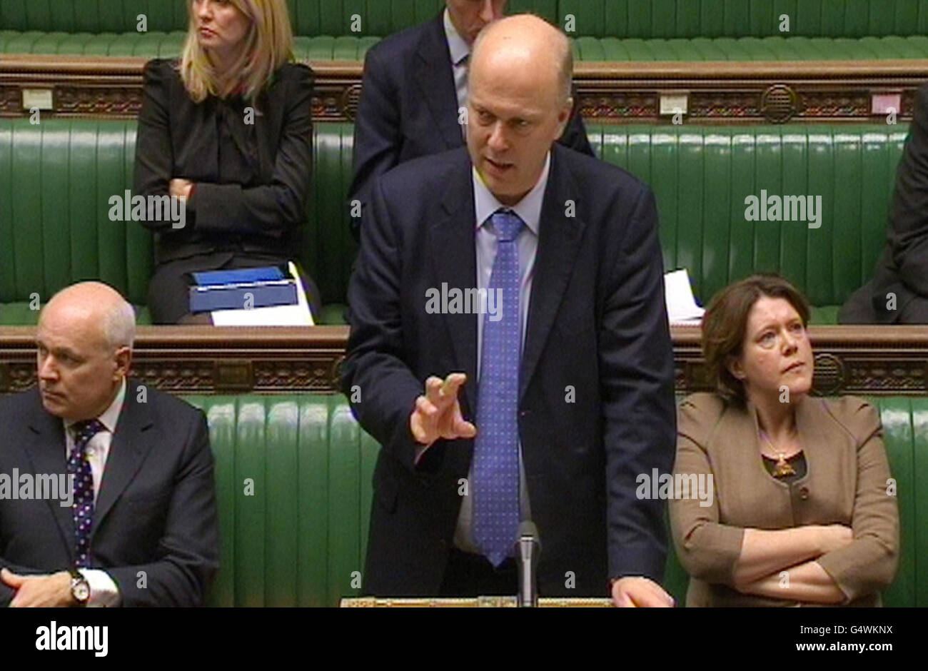 Welfare Reform Bill Stock Photo