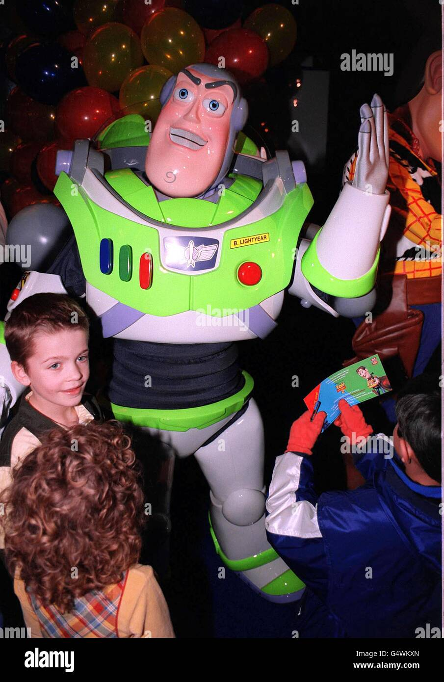 Toy Story 2 Premiere Lightyear - Stock Image