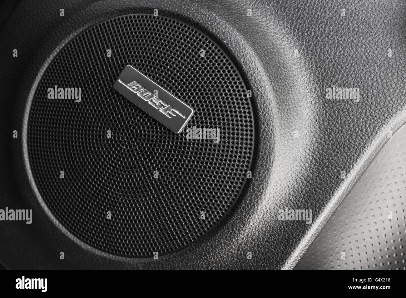 Bose Speakers For Cars >> St Petersburg Russia May 15 2016 Bose Car Audio