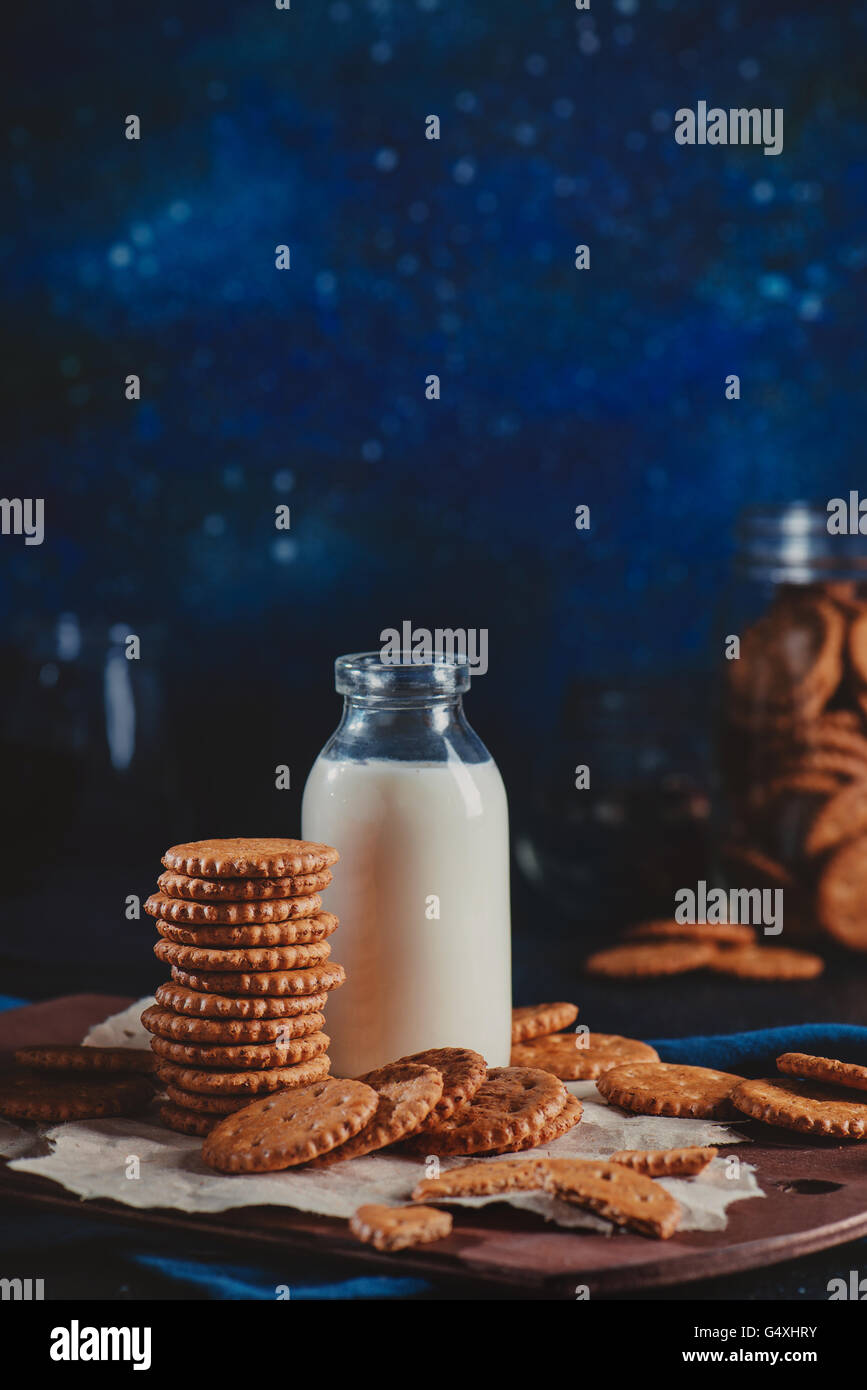 Midnight cookies - Stock Image