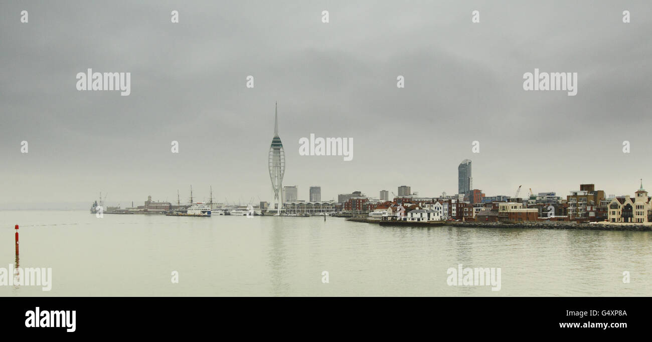 Portsmouth General Views Stock - Stock Image