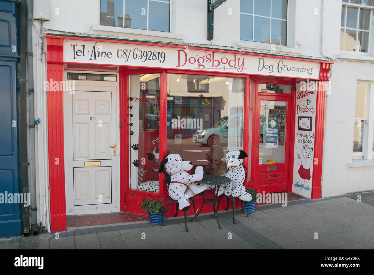 65a4c62d9ccf6 The Dogsbody Dog Grooming shop in Dungarvan, Co. Waterford, Ireland (Eire)