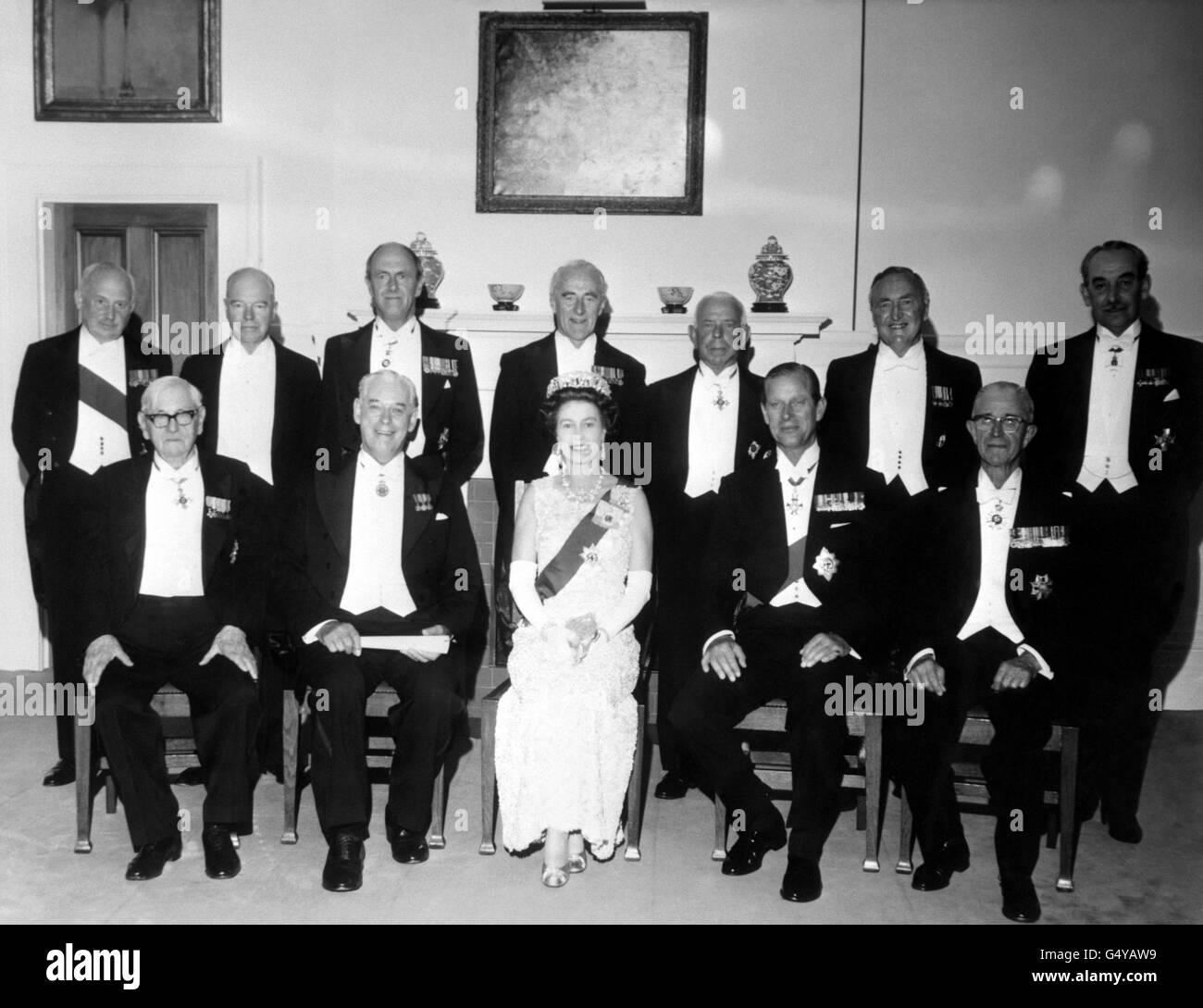 Royalty - Queen Elizabeth II Visit to New Zealand - Stock Image