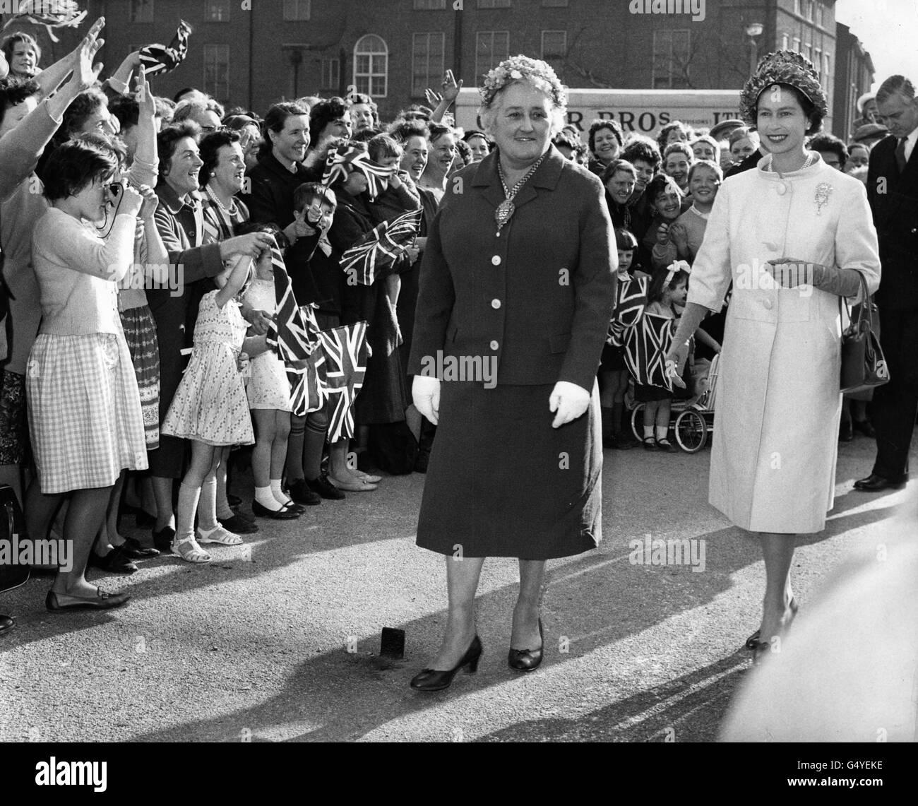 Royalty - Queen Elizabeth II - Polar, LondonStock Photo
