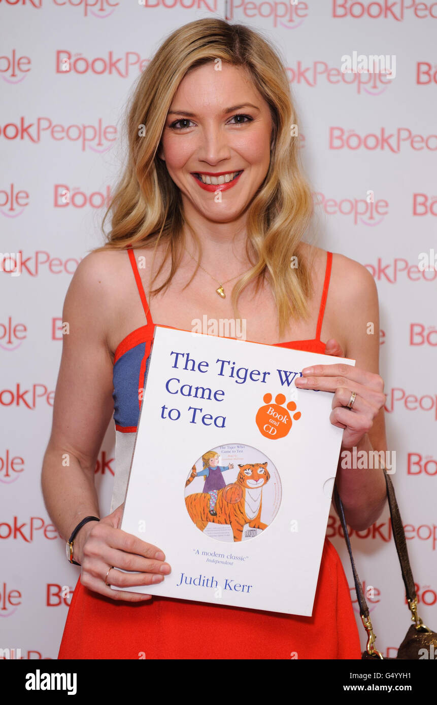 Lisa Faulkner Attends The Book People Gala Dinner Stock