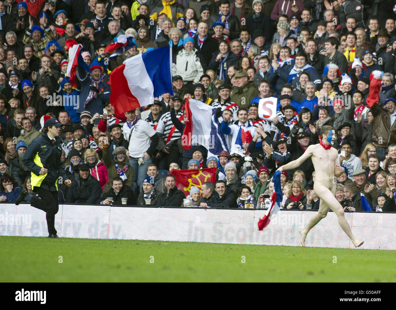 Rugby Union RBS Nations Championship Scotland V France Stock Photo Alamy