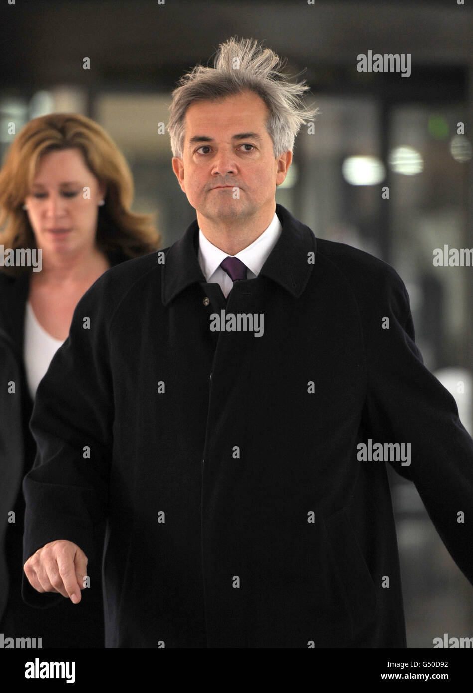 Huhne allegations - Stock Image