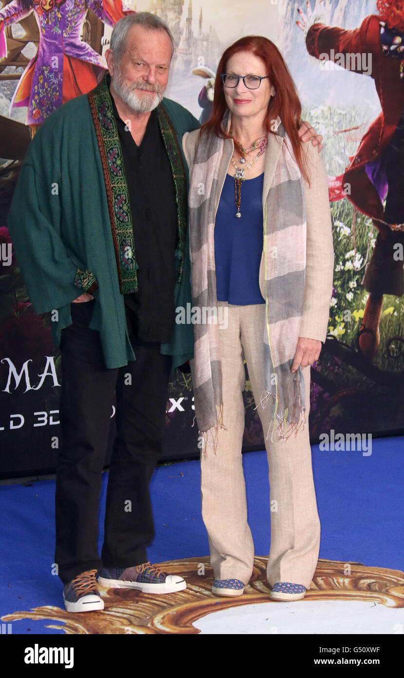 May 10, 2016 - Terry Gilliam attending 'Alice Through The Looking Glass' European Film Premiere at Odeon, - Stock Image