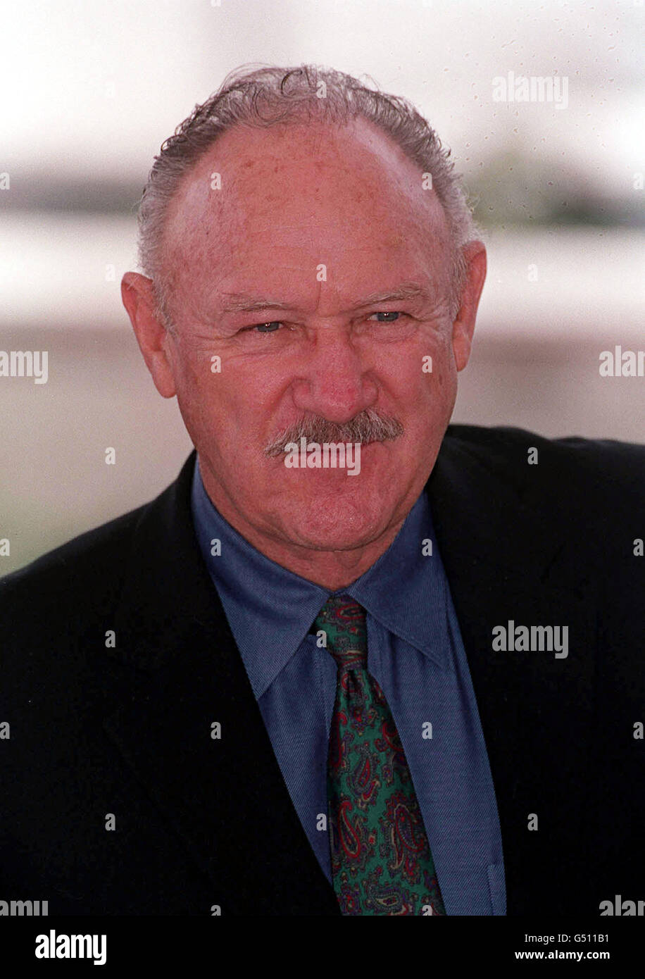 Hackman at Cannes - Stock Image