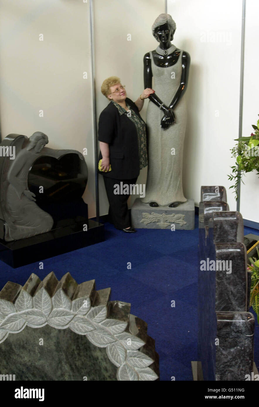 Diana Statue memorial - Stock Image