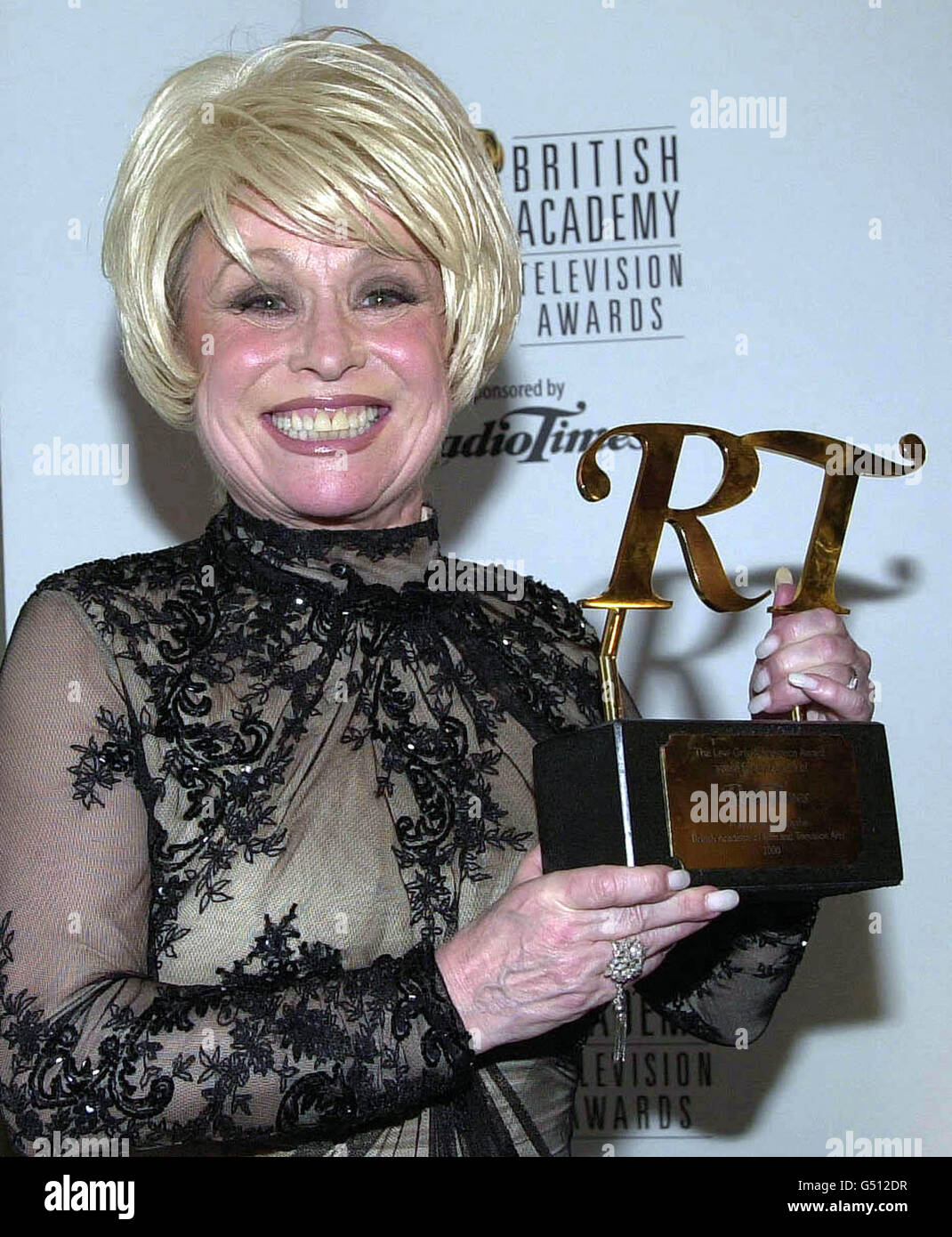 TV BAFTAS Barbara Windsor - Stock Image