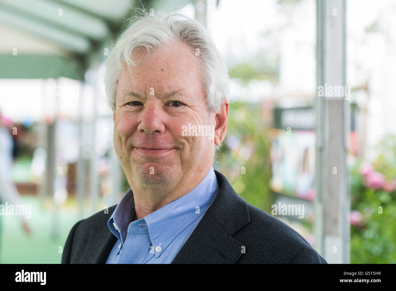 Richard H. Thaler. American economist and the Ralph and Dorothy Keller Distinguished Service Professor of Behavioral - Stock Image