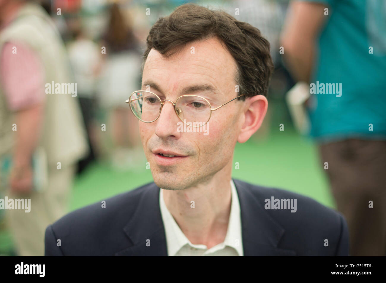Brendan Simms, Irish historian and Professor of the History of International Relations in the Department of Politics - Stock Image