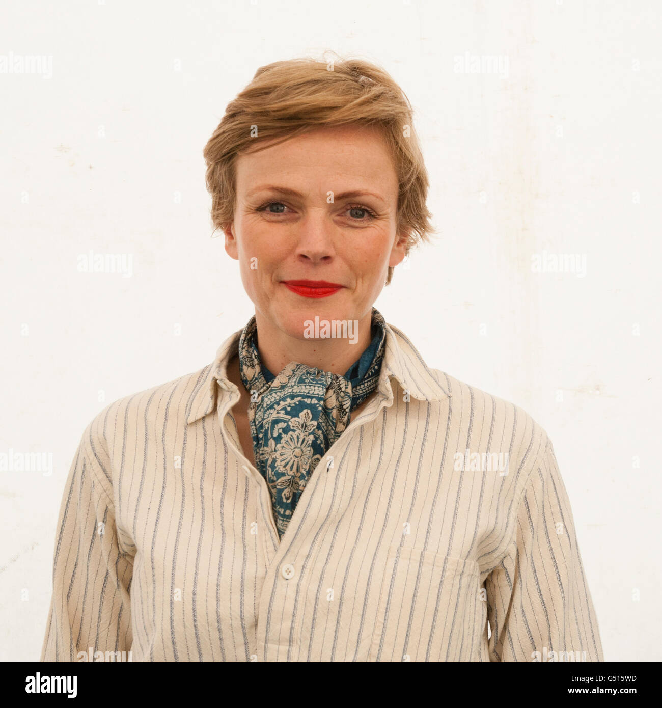 Maxine Peake , actor performer, at The Hay Festival of Literature and the Arts , May-June 2016 - Stock Image