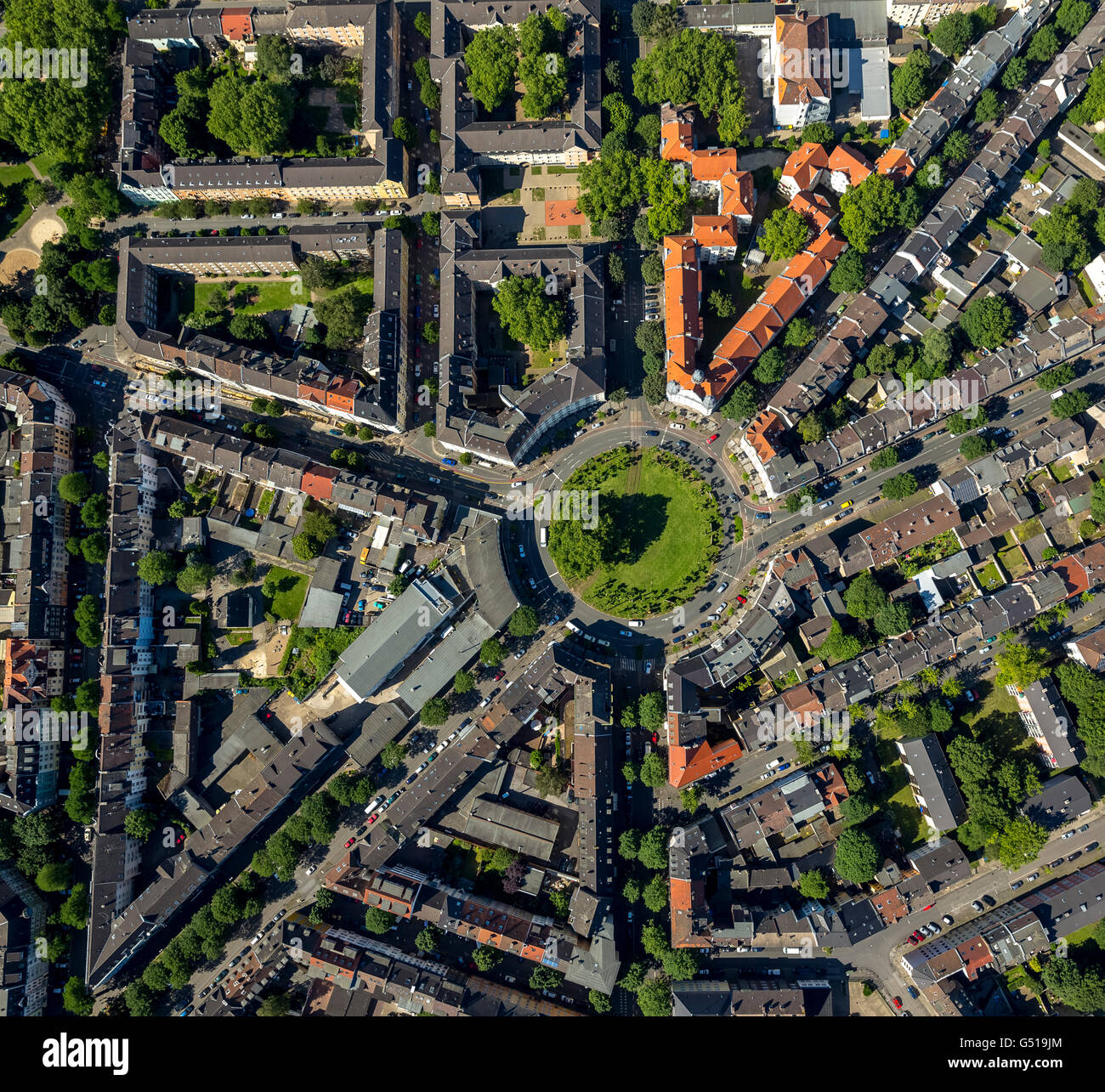 Aerial View Borsigplatz Dortmund Vertical Photographs Cradle Of BVB Ruhr Region North Rhine Westphalia
