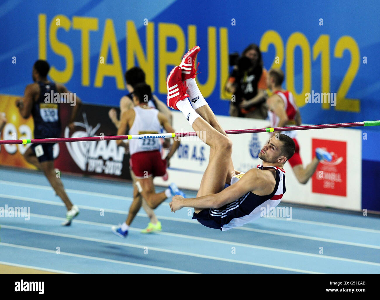 Athletics - IAAF World Indoor Championships - Day Two - Atakoy Athletics Arena - Stock Image