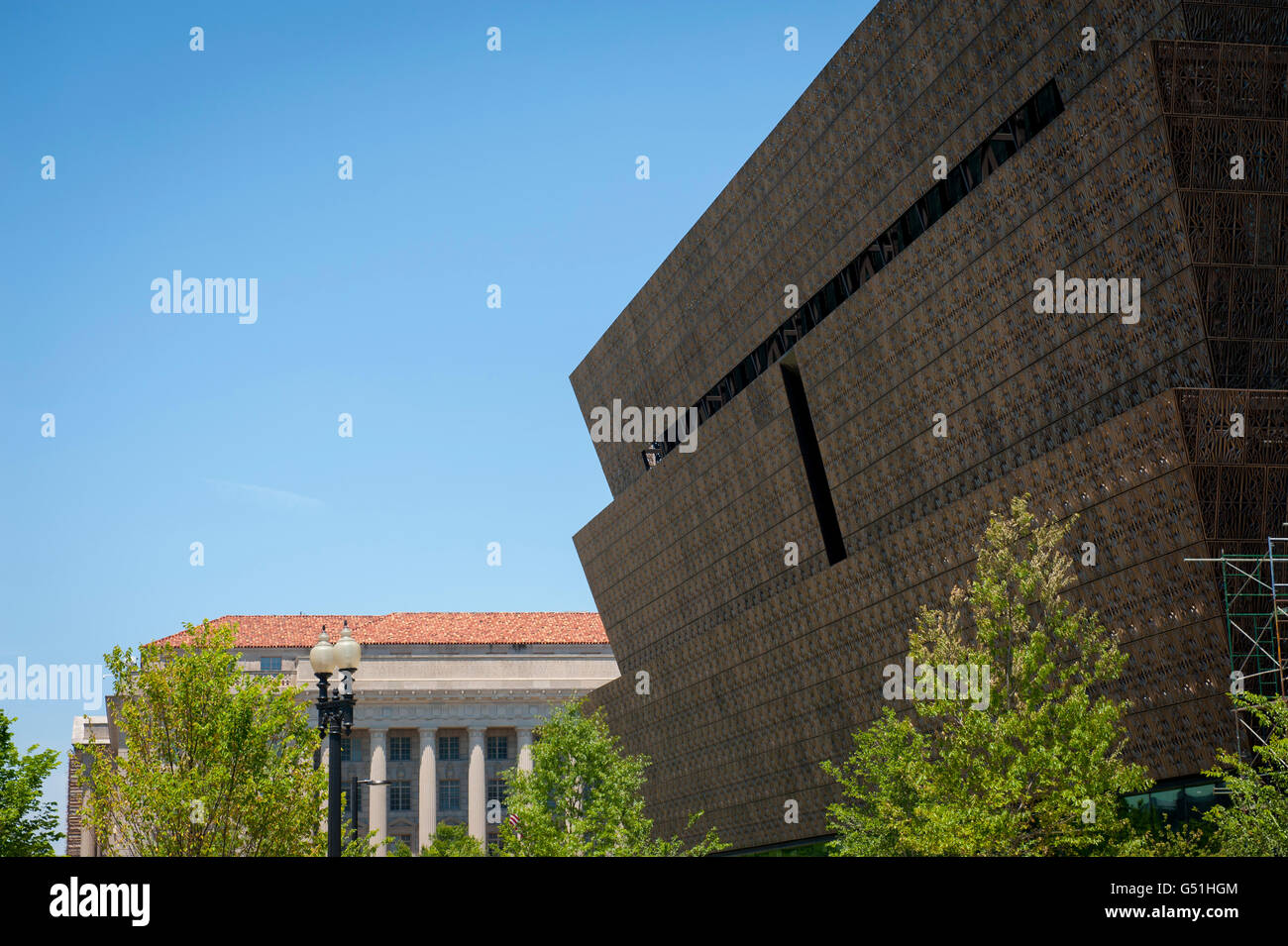 Usa Washington Dc The National Museum Of African American History