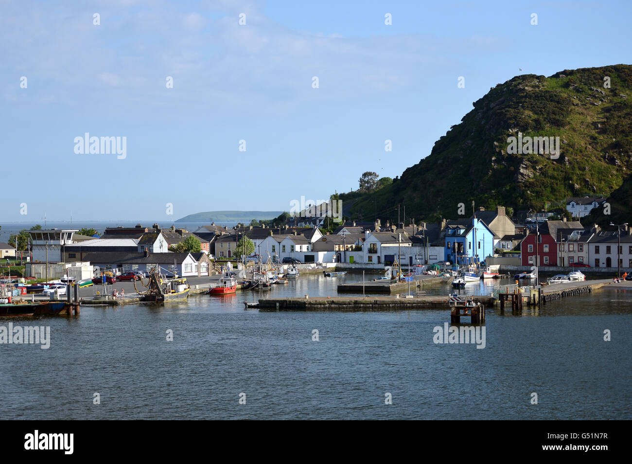 Passage East, Waterford, Ireland. Setting for Redwater TV series - Stock Image