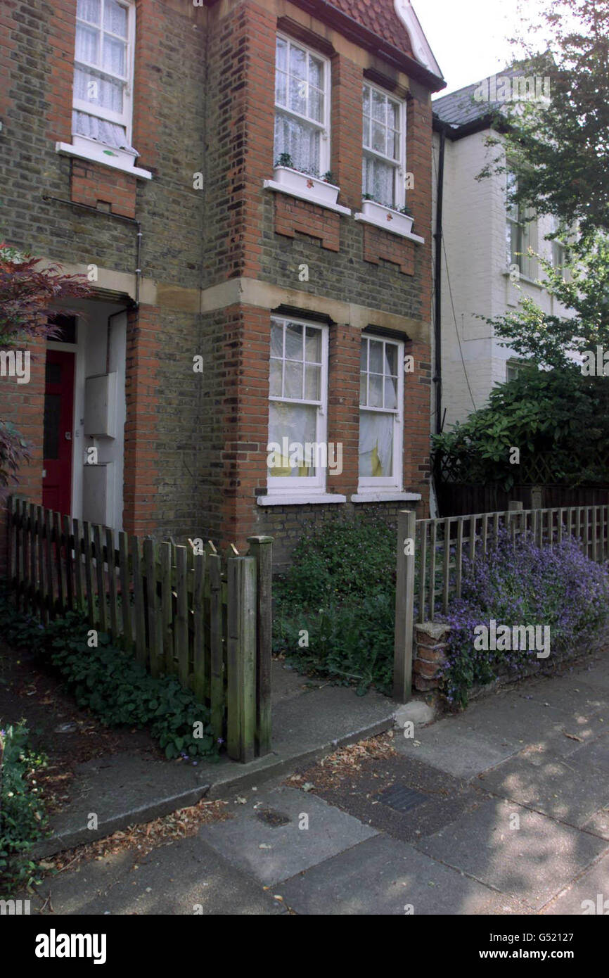 Rod Richards Trial Victims House - Stock Image