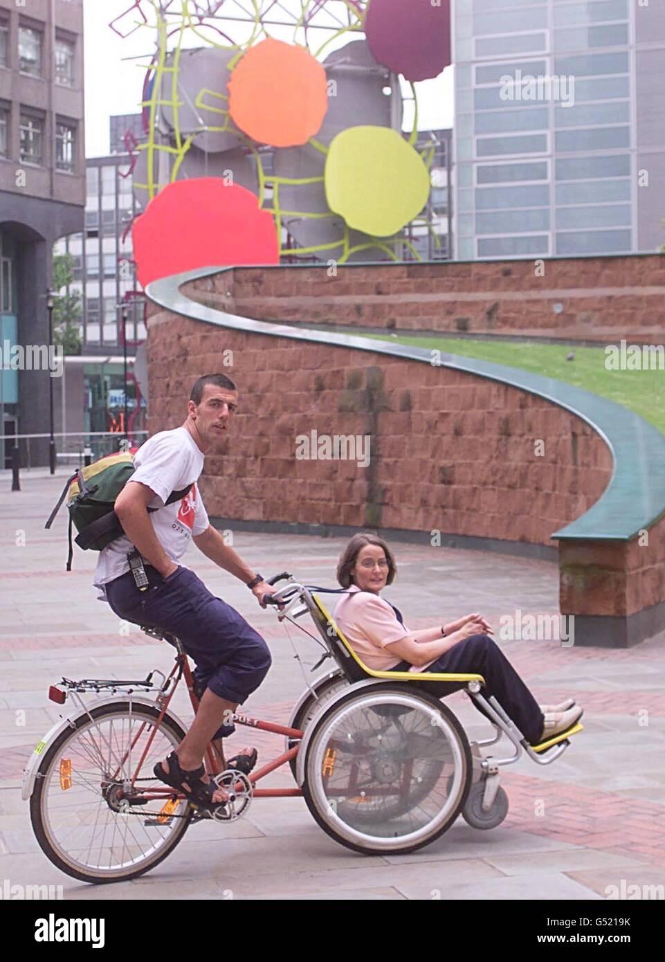 Bike to Work Day - Stock Image
