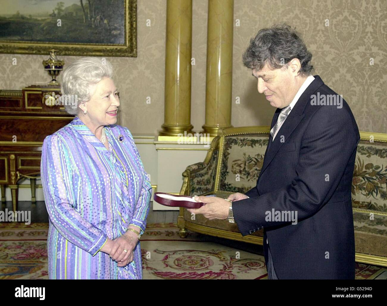 Queen & Tom Stoppard - Stock Image
