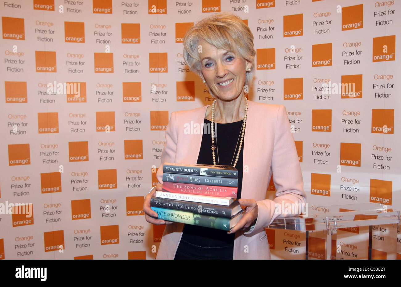 Orange Prize for Fiction - Stock Image