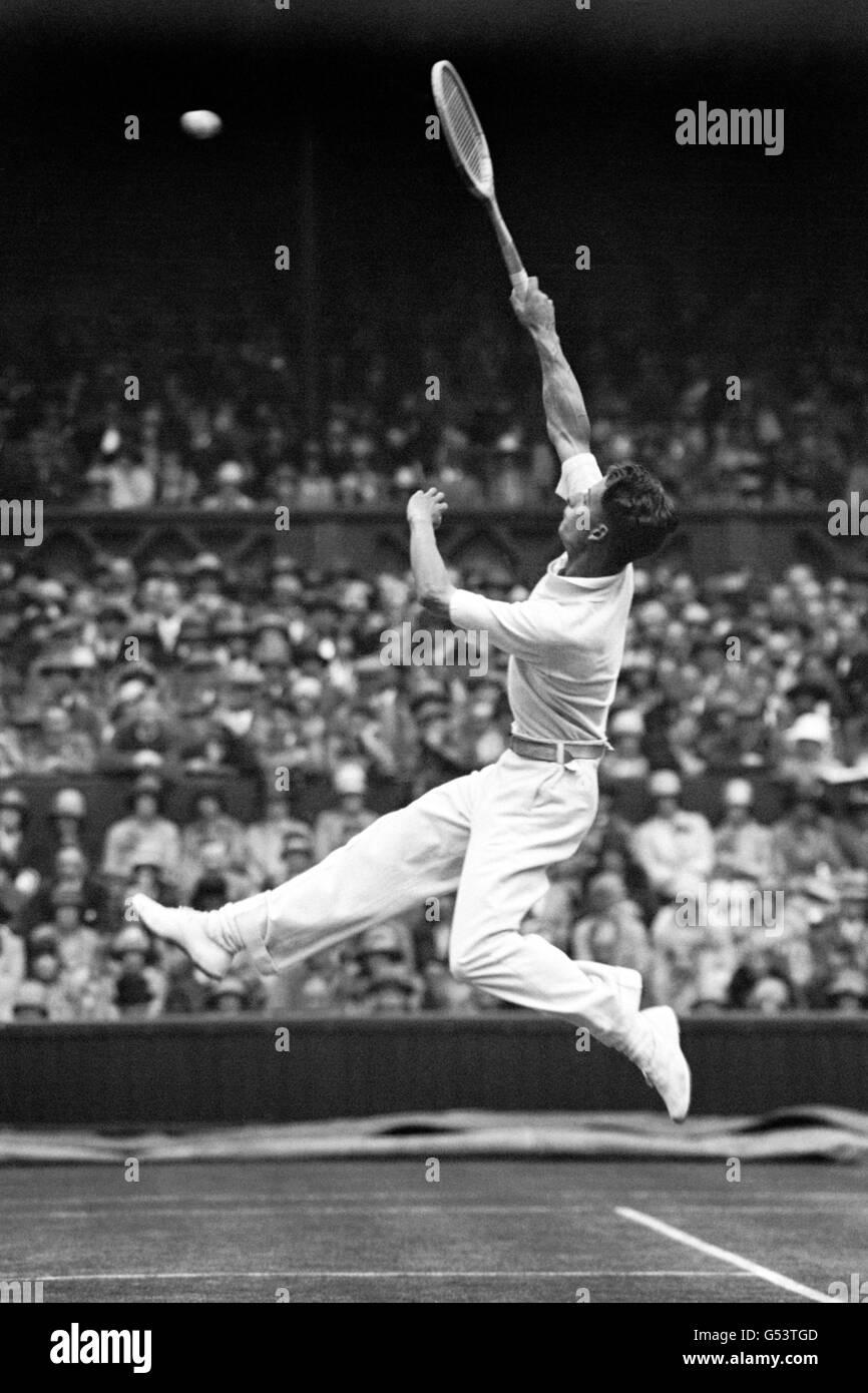 Tennis - Wimbledon - Men's Singles - 1928 - Stock Image