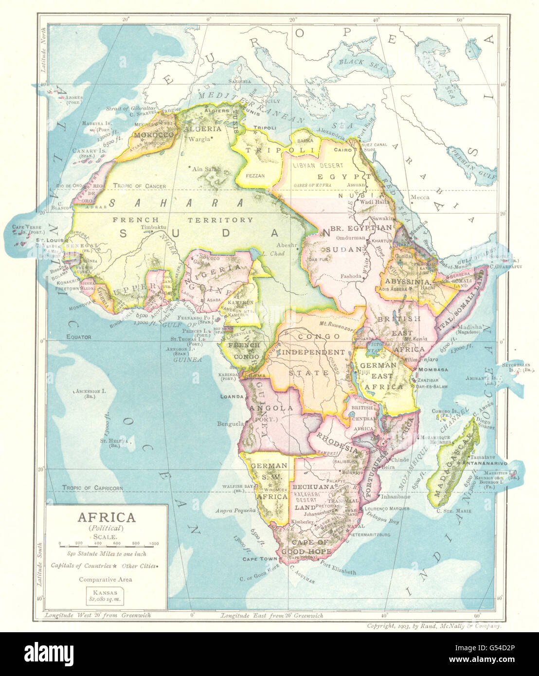 Colonial Africa Abyssinia British East Africa Rhodesia French Sudan