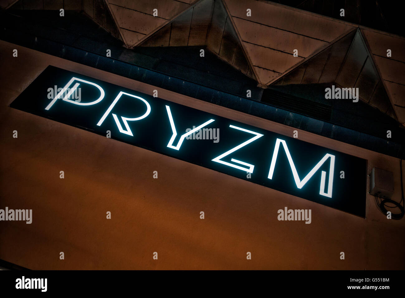 PRYZM - The Best Nightclub and Latenight Bar Experience in Brighton Sussex - Stock Image
