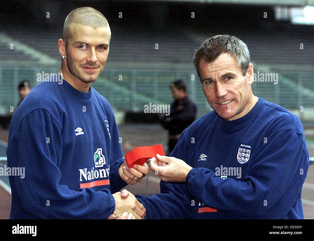 England Beckham & Taylor Turin - Stock Image