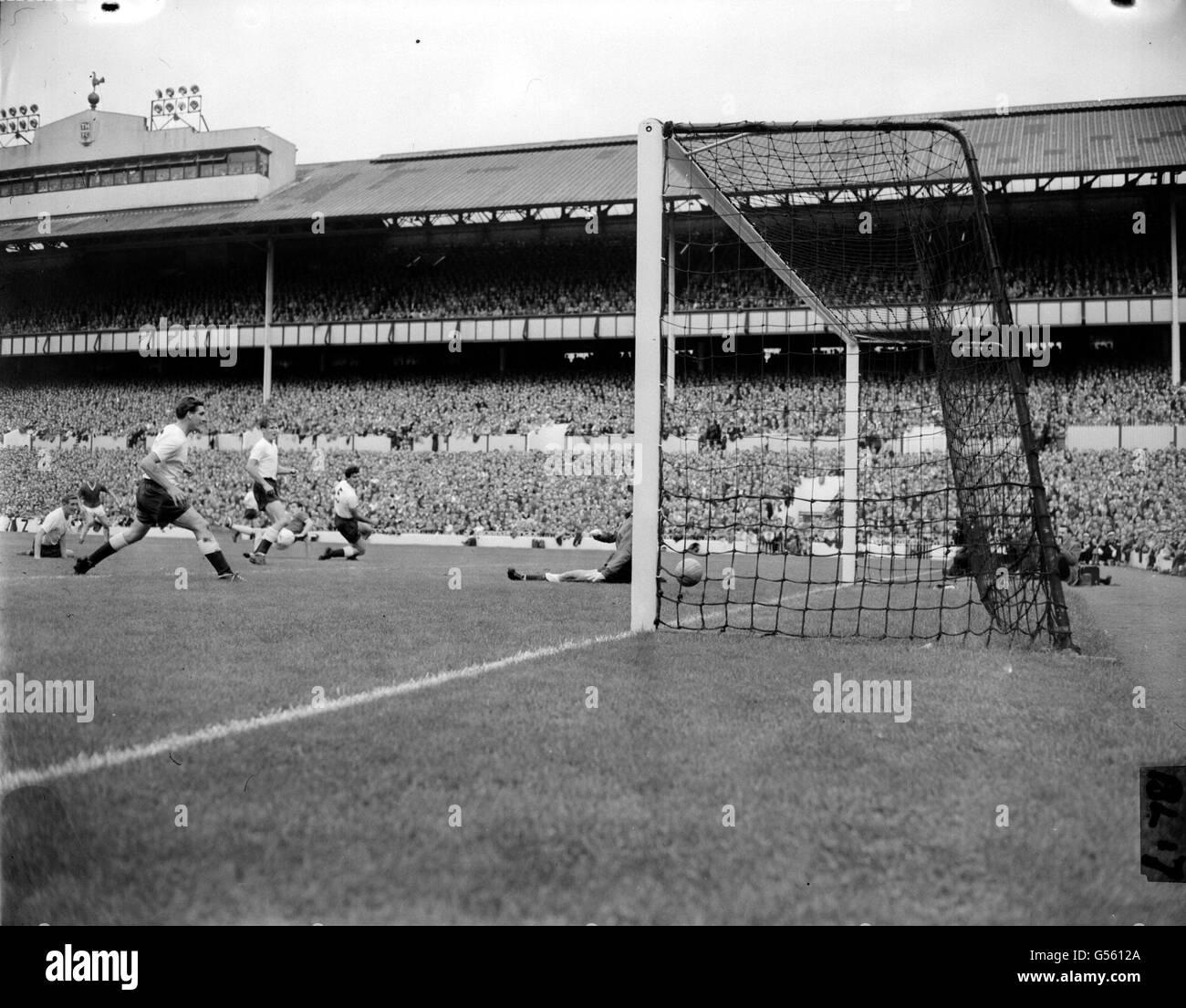 Spurs v United 1960 - Stock Image