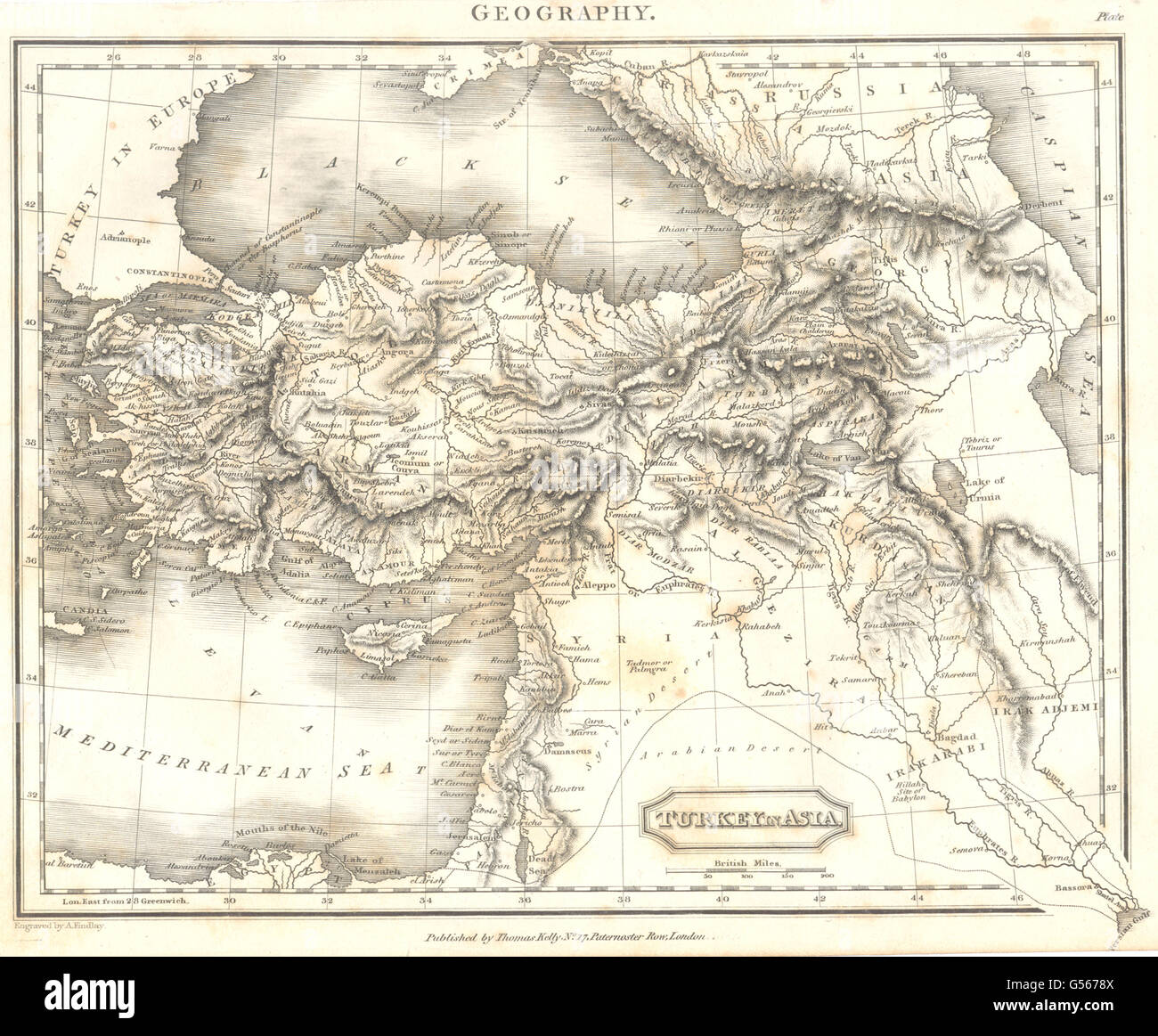 Map Of Georgia 1830.Turkey Turkey In Asia Ottoman Empire Levant Syria Iraq Georgia