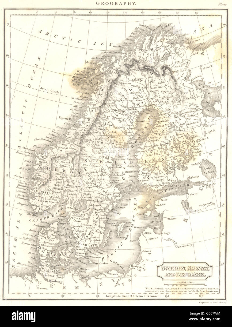 SCANDINAVIA: Sweden Norway Denmark Finland. (Oxford Encyclopaedia ...