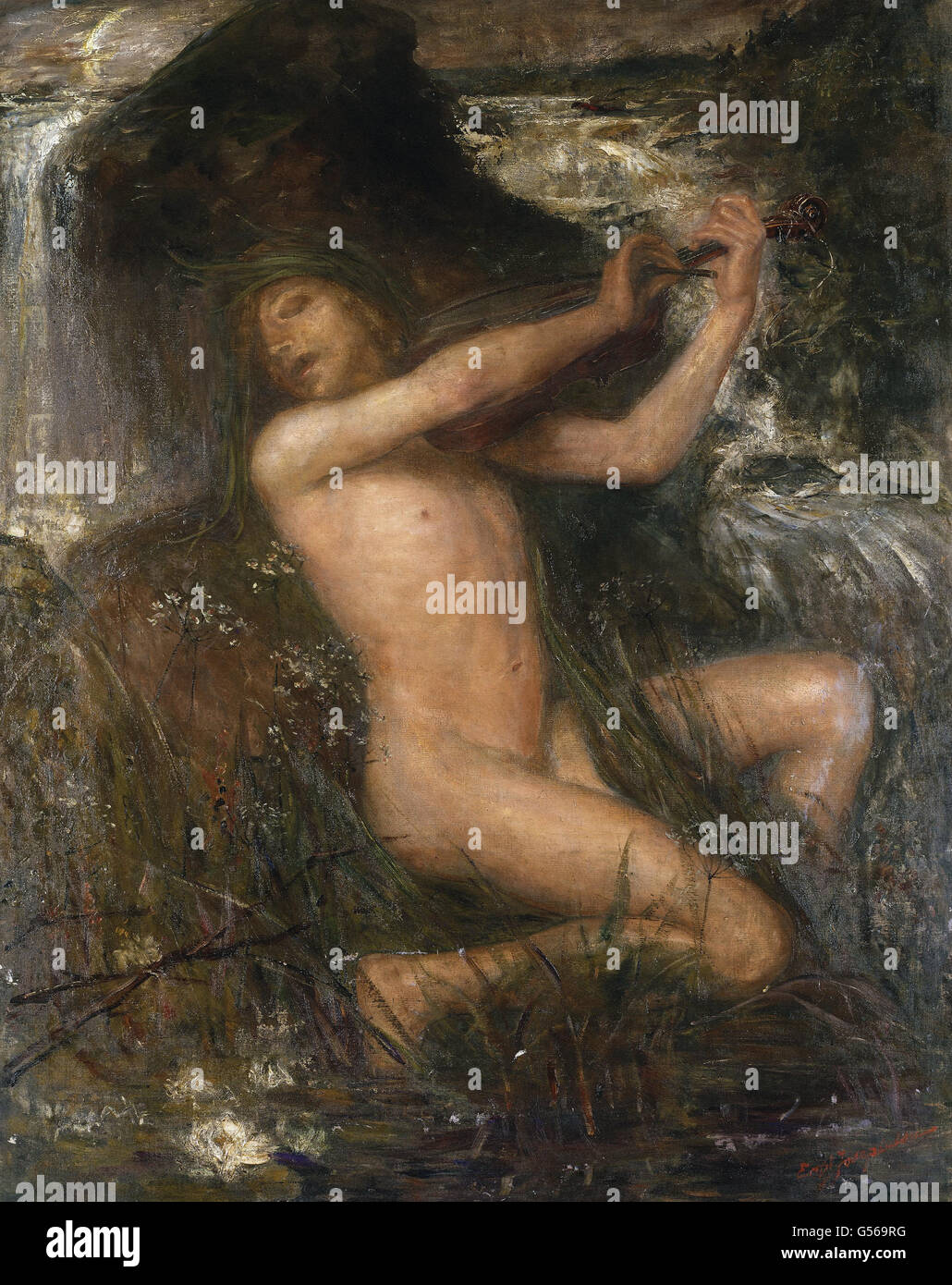 Ernst Josephsson - The Water Sprite - Stock Image