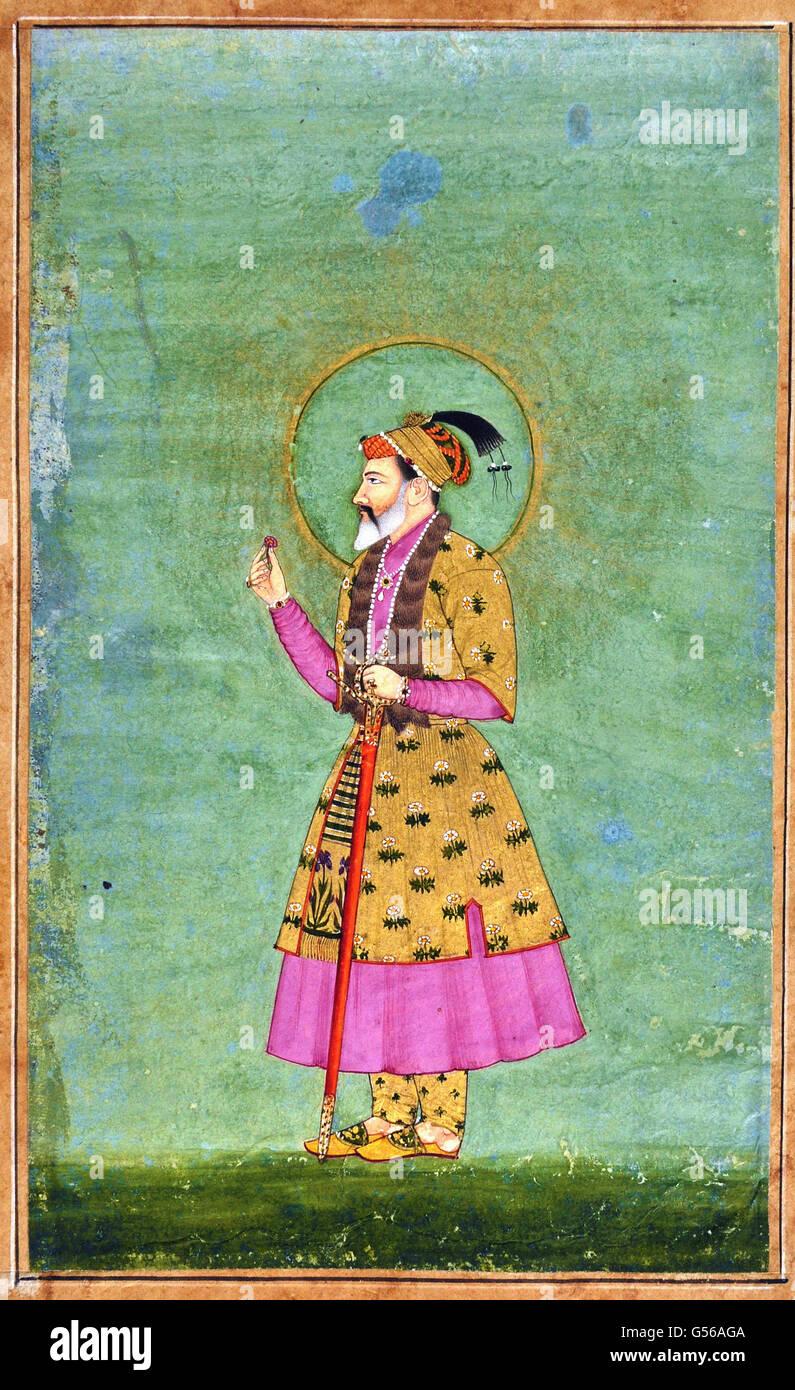 Mughal Emperor Shahjahan - Stock Image