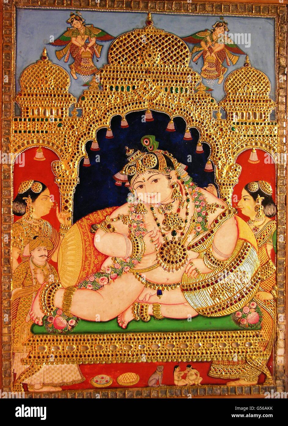 Navaneeta Krishna - Stock Image
