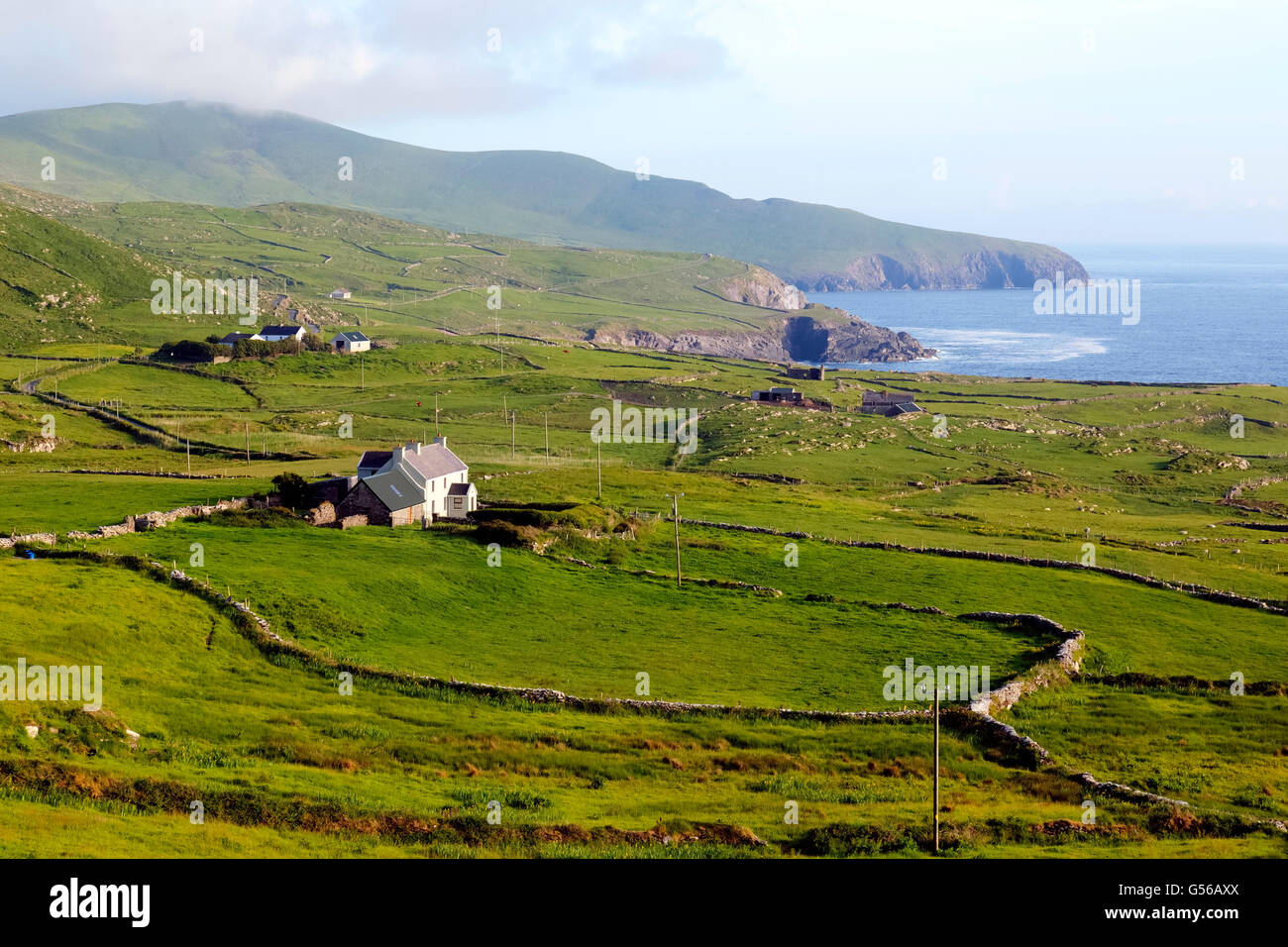 Skellig Ring, Ring of Kerry, County Kerry, Ireland - Stock Image