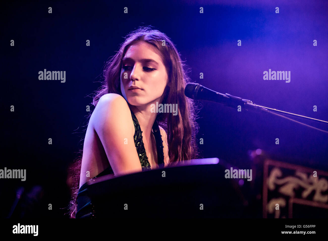Detroit, Michigan, USA  16th June, 2016  BIRDY performing on