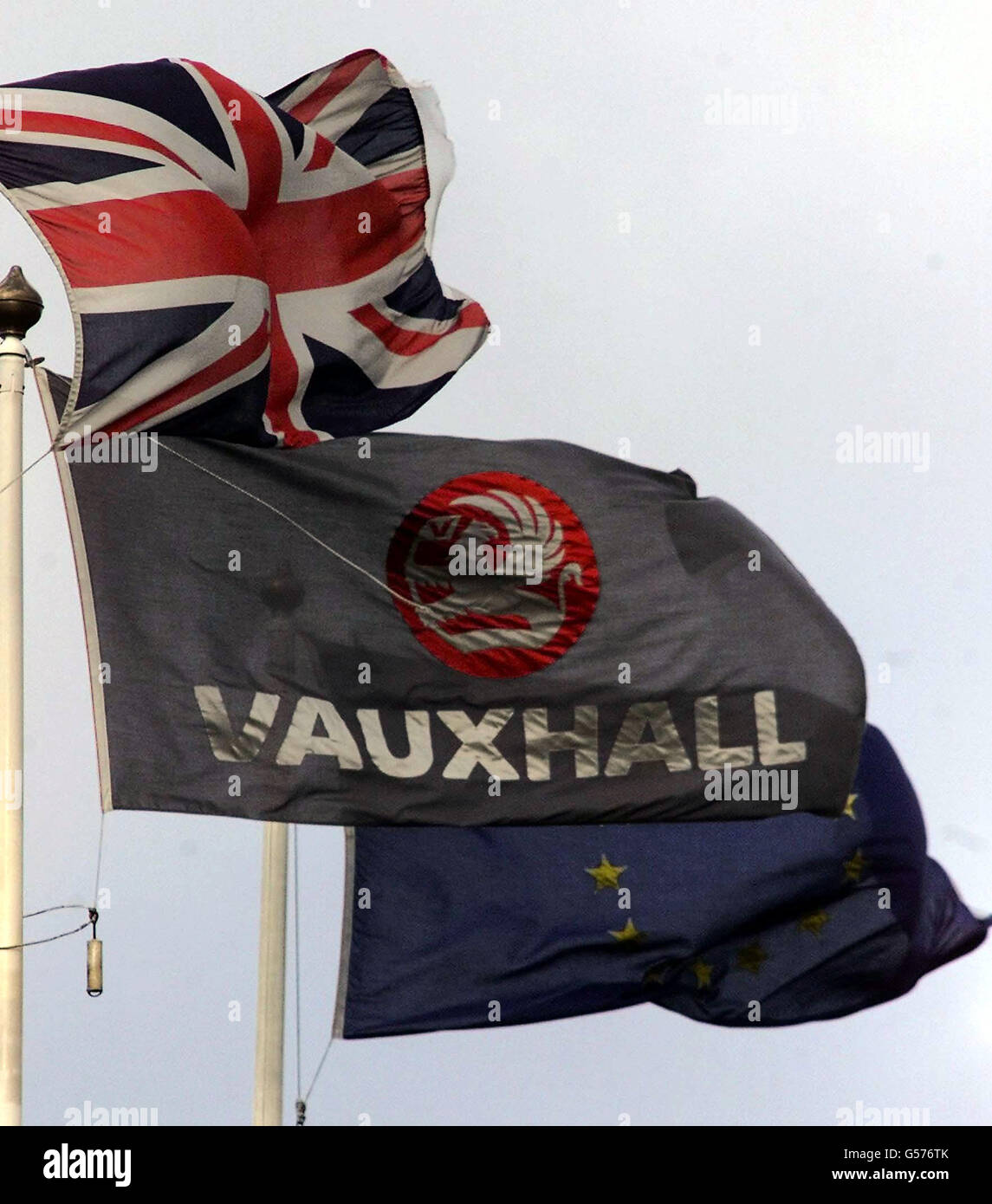 Vauxhall job losses HQ - Stock Image
